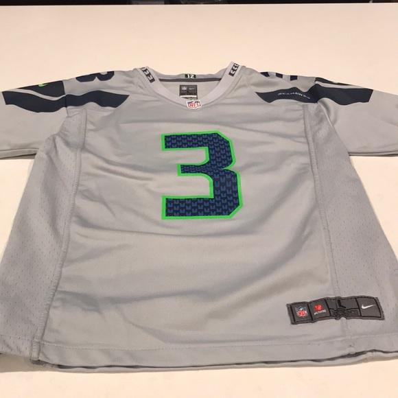 25b97c7c Kids boys Seahawks jersey